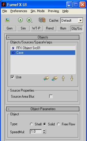 fumefx shell solid free flow