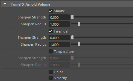 FumeFX - Arnold Volume